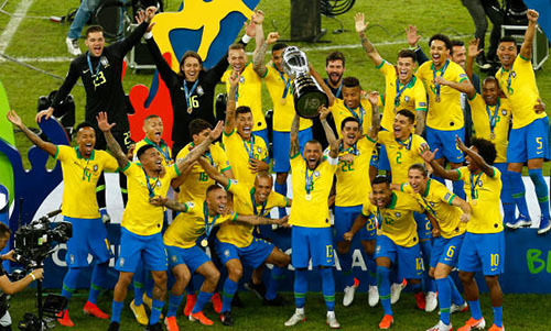 Tổng hợp danh sách các đội vô địch Copa America